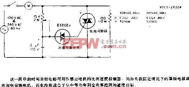 感应电机控制电路图