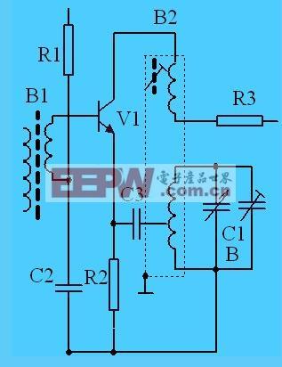 本机振荡电路 (差频为465KHz)