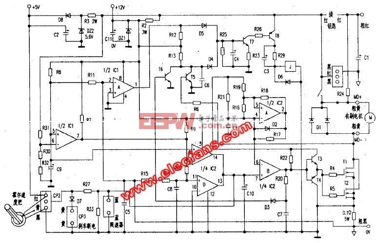 有刷电动车控制器轨道图华南汽车车原理窗帘图片