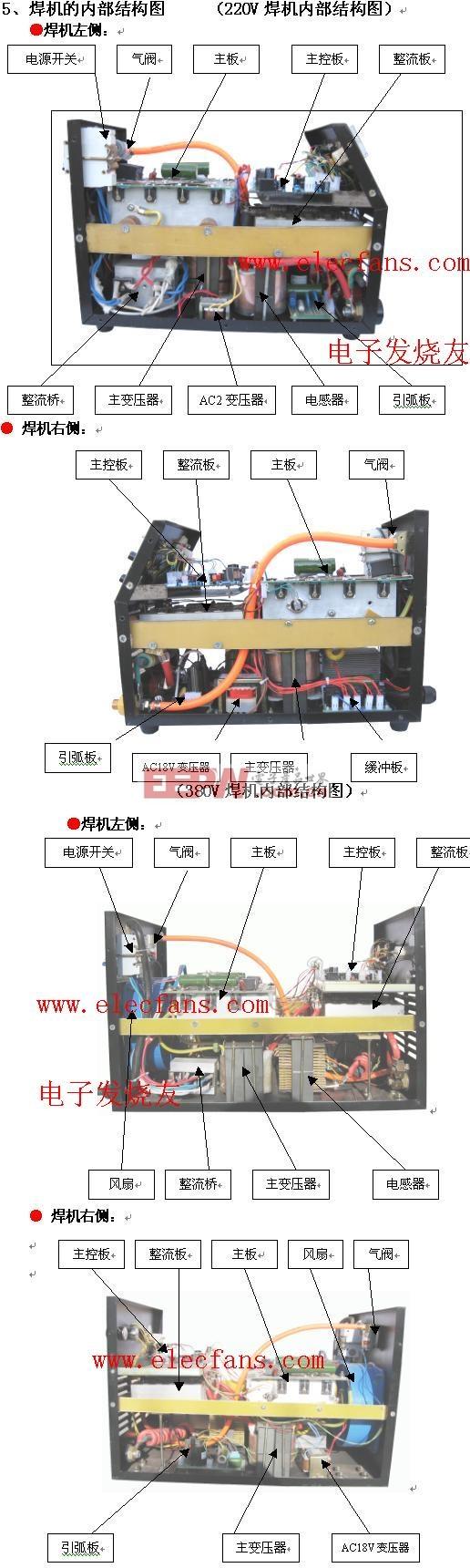 200电气原理框图焊机接线图(220v焊机)焊机接线图