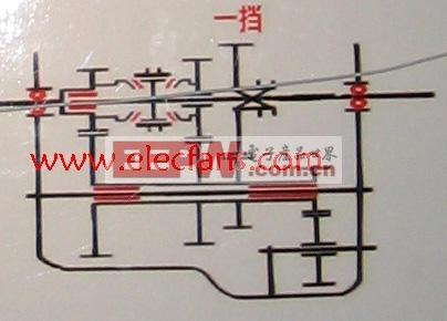 汽车变速箱结构图-汽车电子电路图-电子产品世界