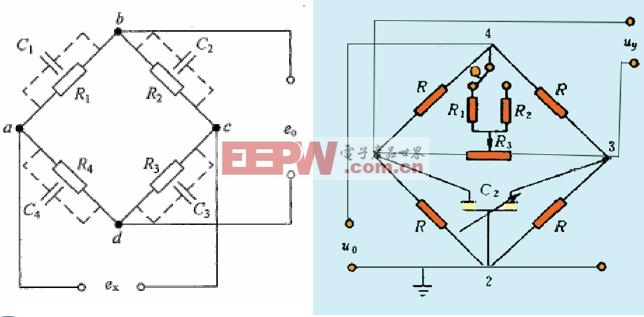 电阻 电桥 交流/交流电阻电桥