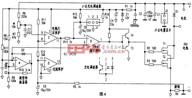 电动自行车控制器电路原理分析