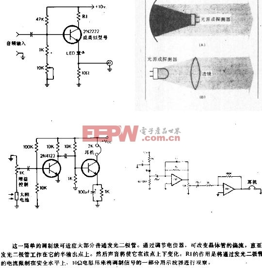 光通信系统电路图