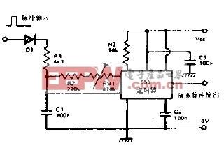 无线电控制的马达速度控制器电路图图片