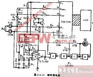 蜂鸣器 电路图 dt830/DT830型蜂鸣器电路图