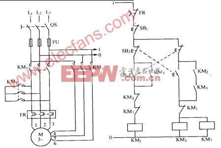 电动机磁平衡保护二次电流接线图图