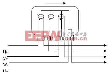 三相电能表接线图