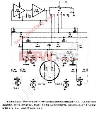 555组成马达自动调速器电路 -马达图片