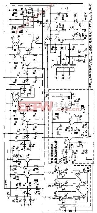 节电器 电路图 异步电机 三相 dgk/DGK型三相异步电机节电器电路图