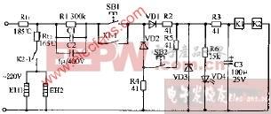 安特SDR-63电子消毒柜电路图