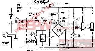 半球HD-75高温电子消毒柜电路图