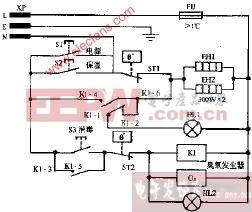 狮王DX-63双功能电子消毒柜电路图