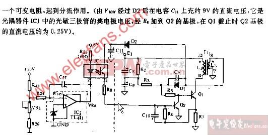 1受控震荡电路简图图片