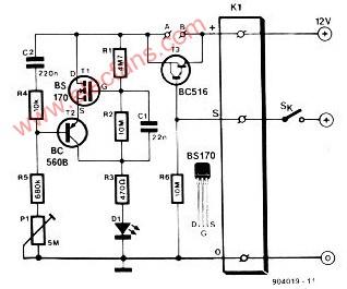 低功耗闪烁器电路--Low power blink led