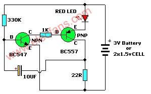 晶体管测试仪电路 http://www.eepw.com.cn