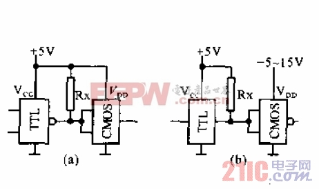 TTL-CMOS接口电路