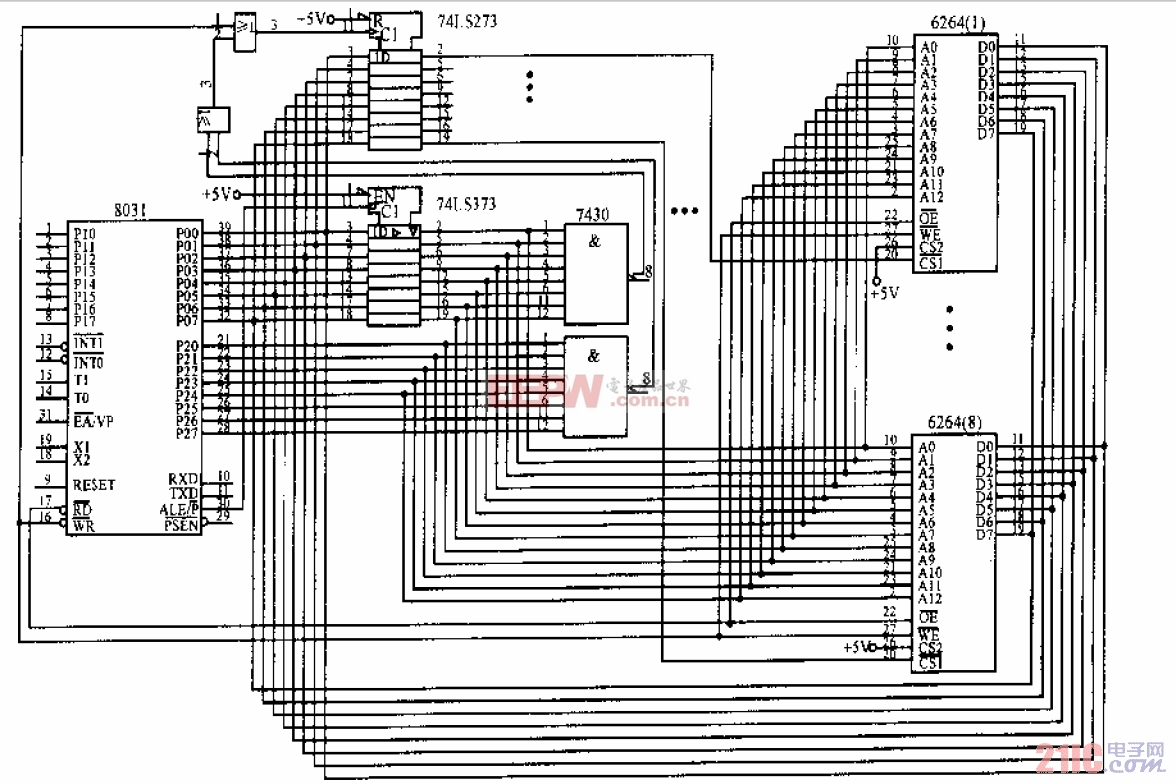 MCS-51单片机系统中RAM空间超64K的扩展电路.jpg