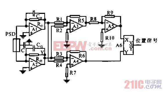 一维光电位置敏感元件调理电路.jpg