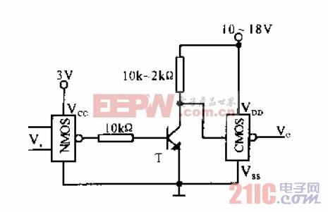 NMOS-CMOS接口电路