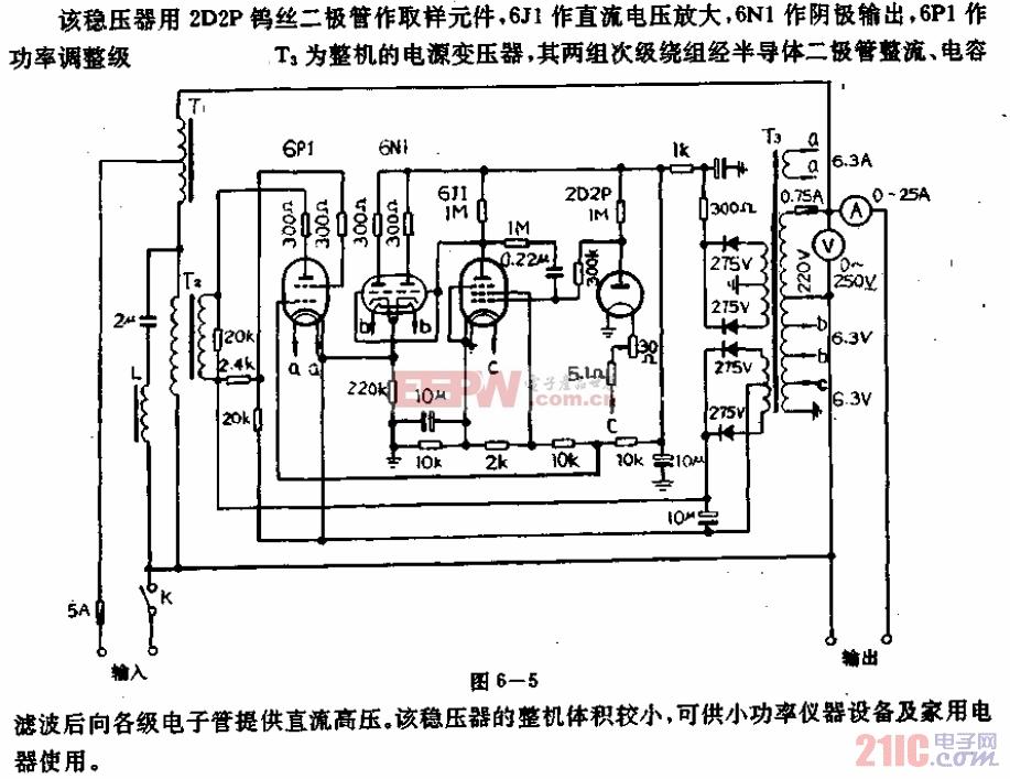614-05(500VA)交流稳压器电路