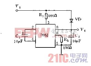 NJU7662应用电路图b