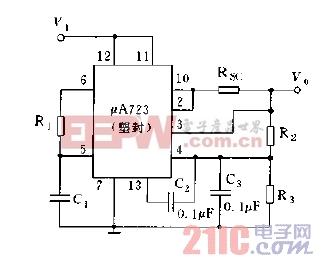 μA723的典型应用电路图.jpg