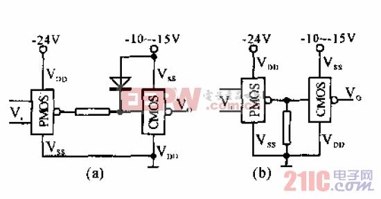 PMOS-CMOS接口电路