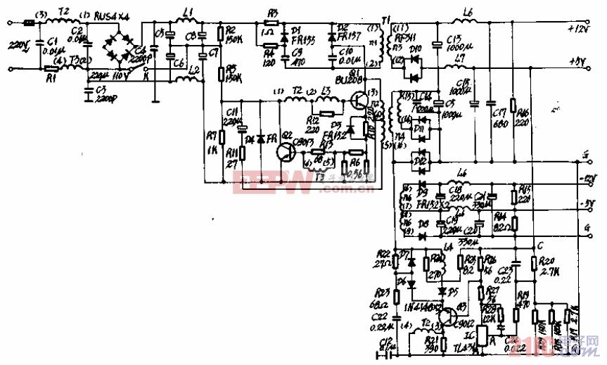 Apple(苹果)机电源电路图