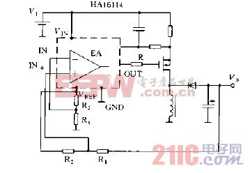 直流变换器输出电压的设定方法负输出电压情况电路图.jpg