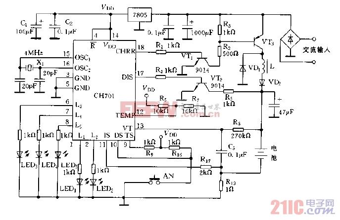 采用CH701构成的充电器电路图.jpg