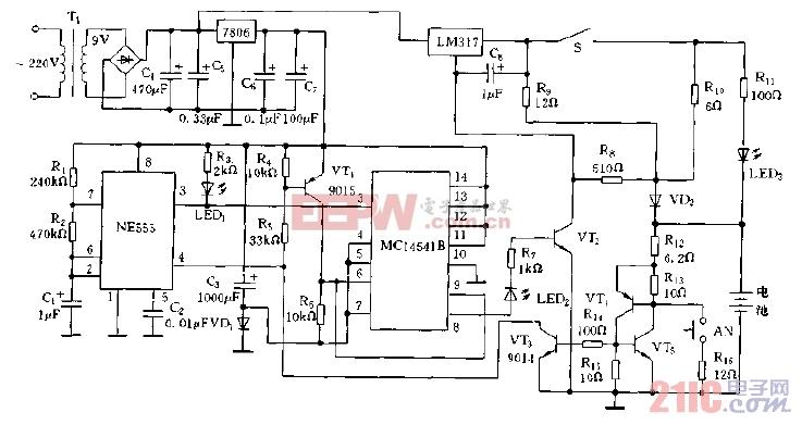 家用自动充电器电路图.jpg