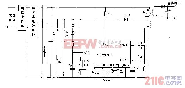 M62213FP应用实例电路图