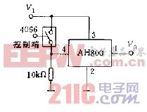 AH800的控制应用电路图c