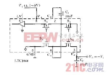 LTC1044应用实例负压变换器