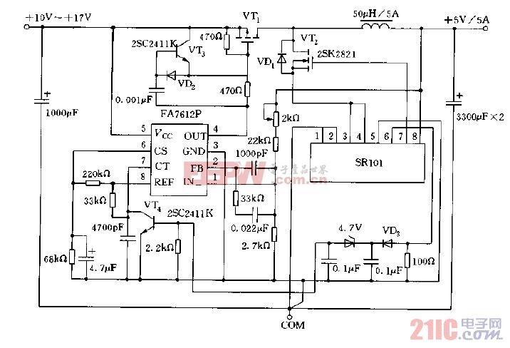 同步整流型降压斩波器电路图.jpg