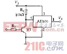 AH800的控制应用电路图a