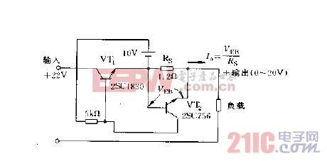 简单的恒流电路图图片