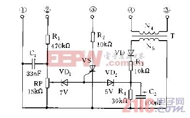 电子镇流器的过流,过压保护电路图.jpg
