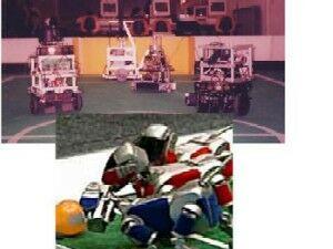 The SPQR team of soccer robots