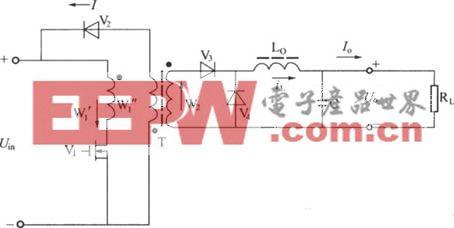 单端正激式变换器电原理电路图