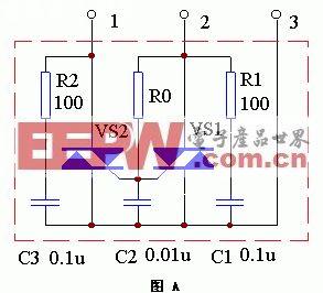 模块 制作 负载/该装置的内部电路工作原理如图A所示。