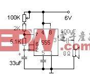 555时基集成电路的应用