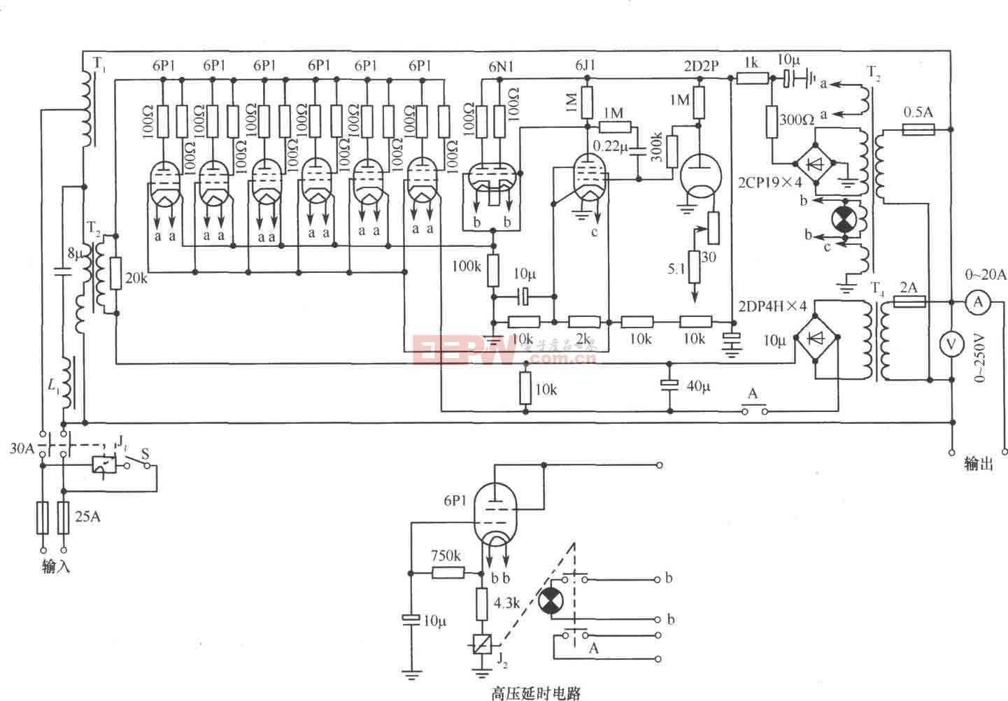 614-B3(3kVA)交流穩壓器電路