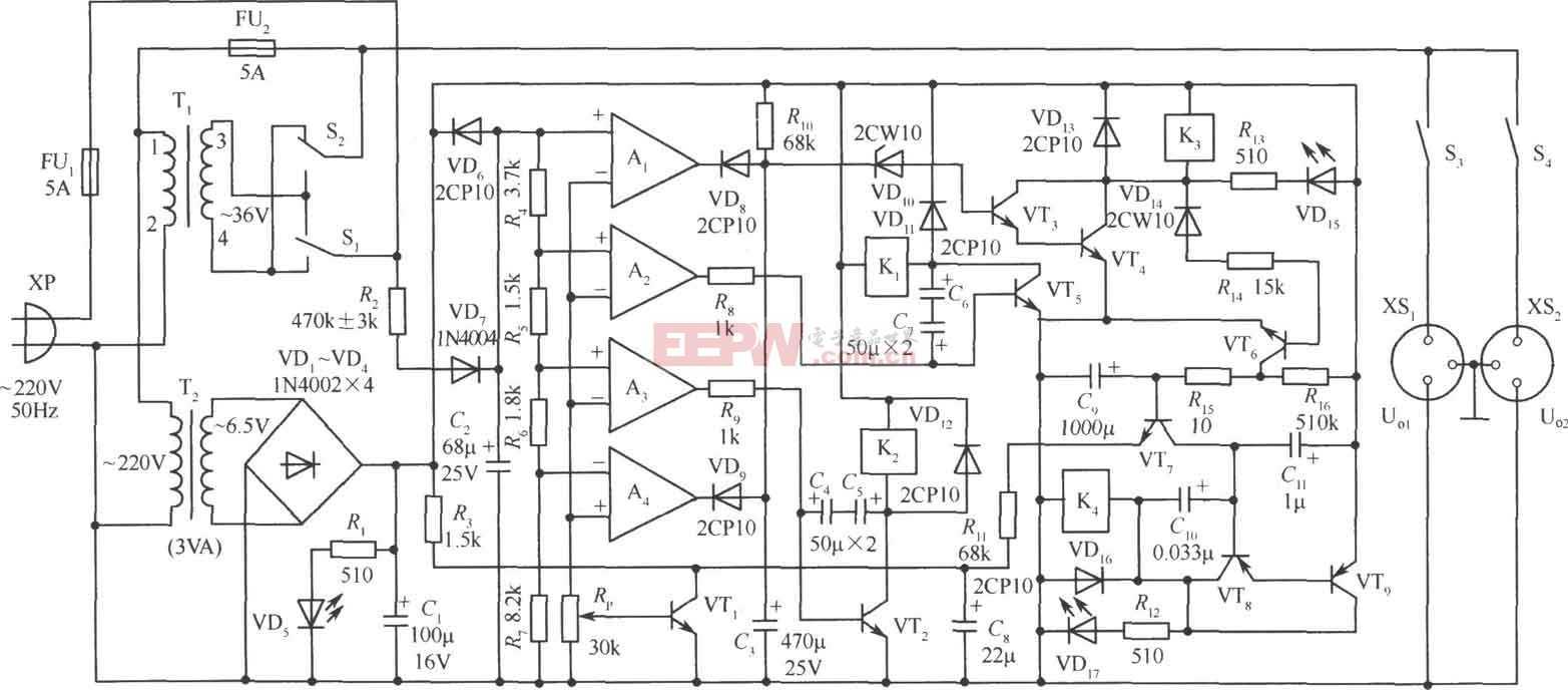 330W交流稳压电源电潞