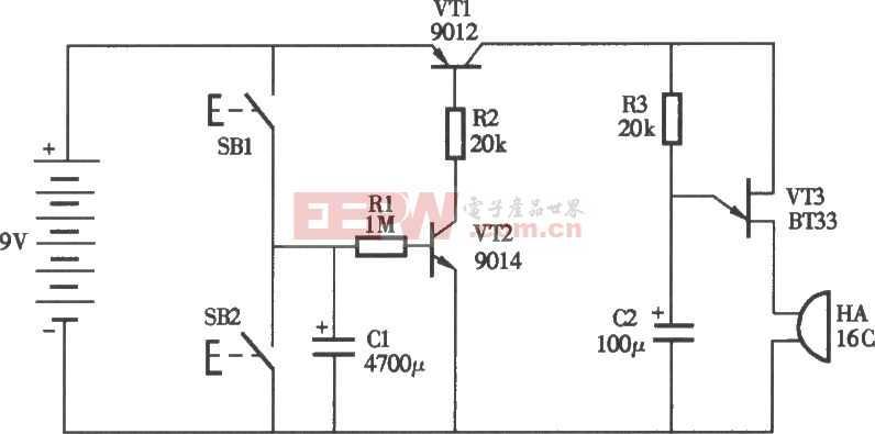 电子催眠器电路图