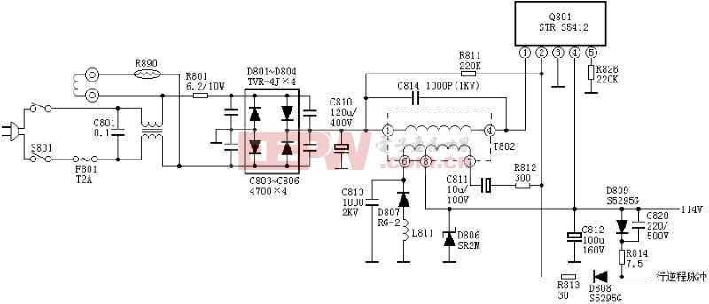 绝对可用的开关电源:STR5412电源