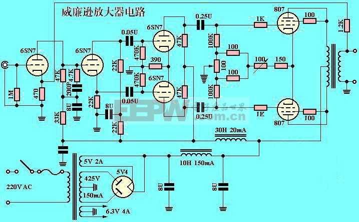 成品功放電路-威廉遜電子管放大器副本