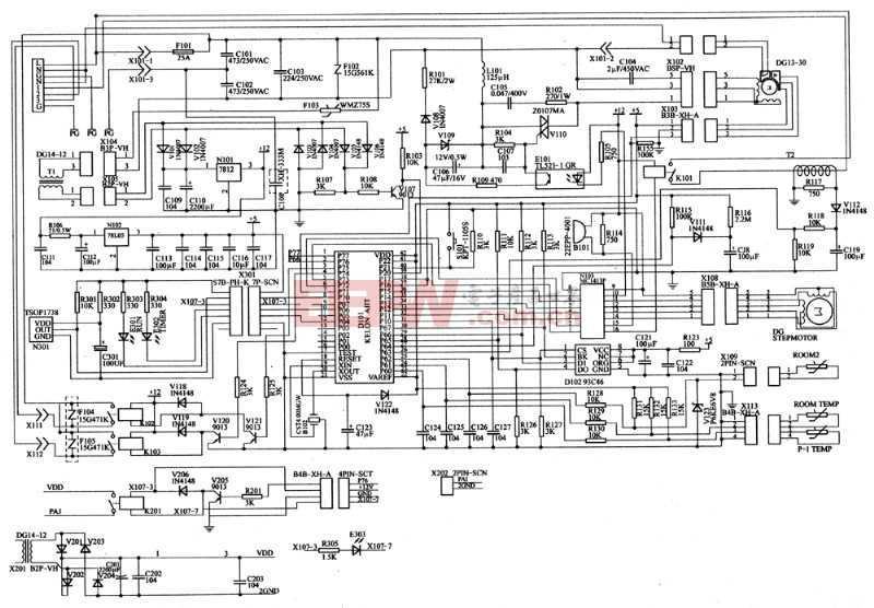 空调控制电路