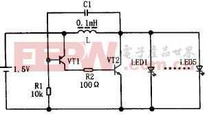 LED手电筒驱动电路原理